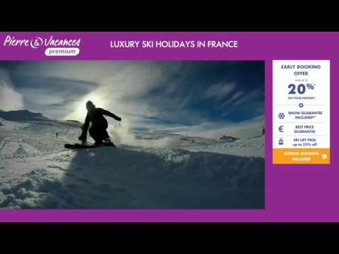 Ski holidays France | Early booking 20% off | Pierre et Vacances