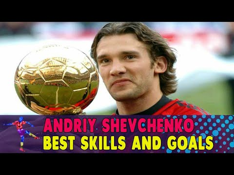 Andriy Shevchenko Best Skills and Goals