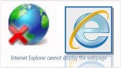 GR _  webseiten fehler beheben - die seite kann nicht angezeigt werden