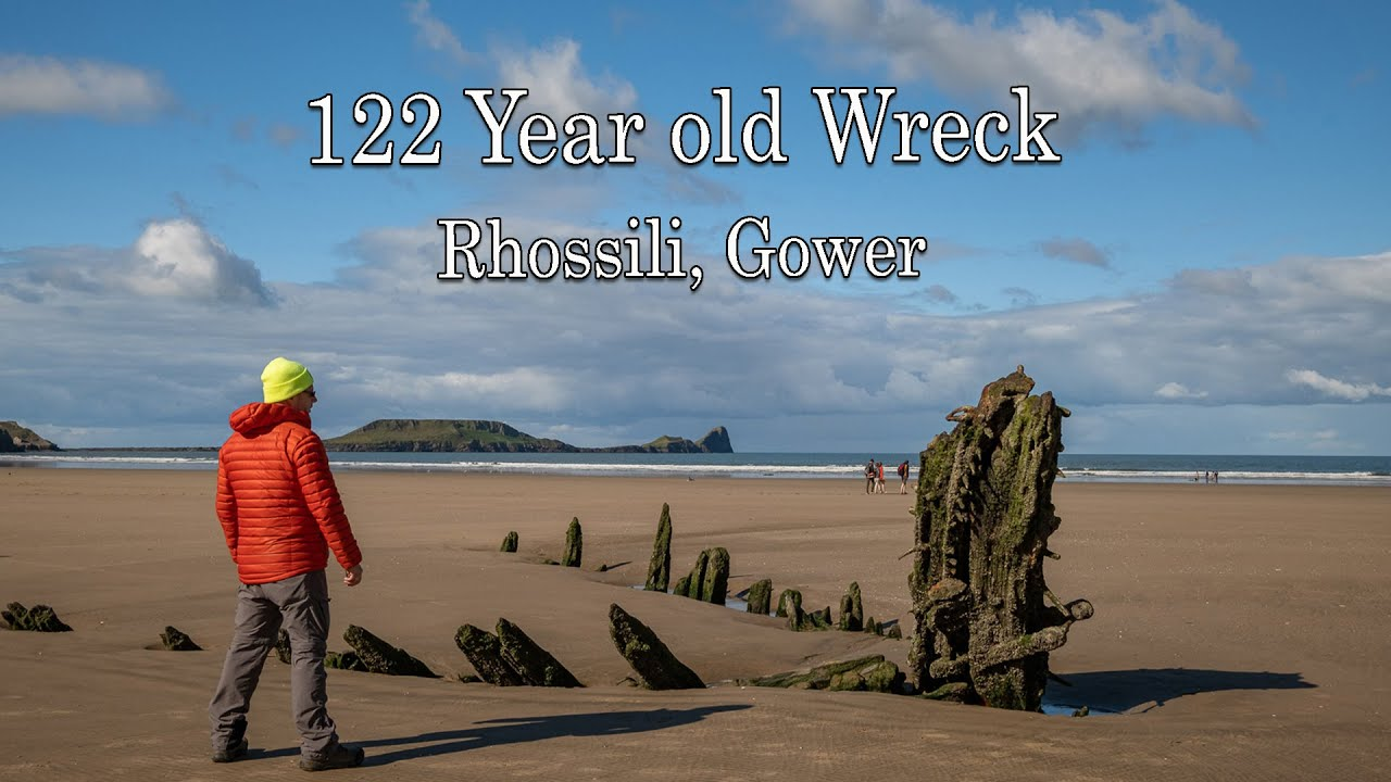 122 Year Old Wreck - Seascape Photography - Rhosili