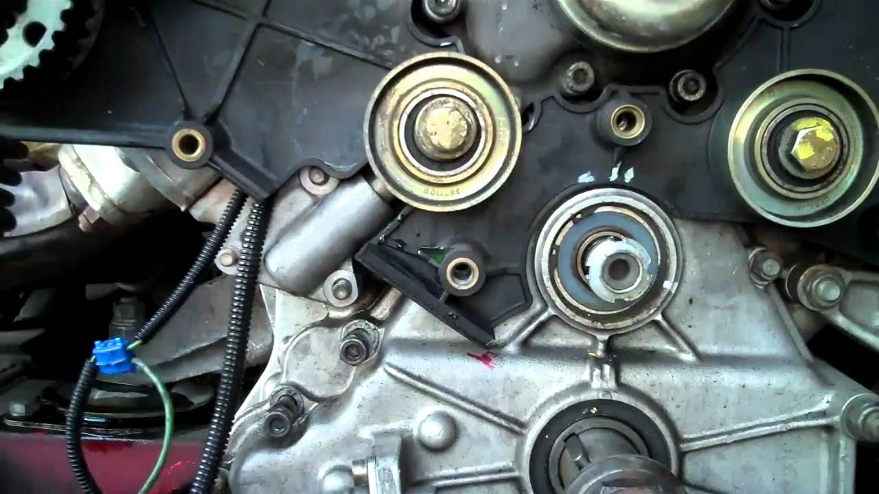 ferrari 348 engine cam belt change part ii youtube. Black Bedroom Furniture Sets. Home Design Ideas