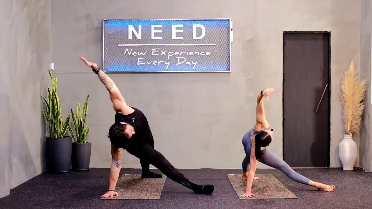 Vinyasa Yoga #21ΜΕΡΕΣ- Challenge #LIVE
