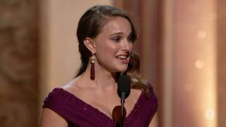 Natalie Portman winning Best Actress