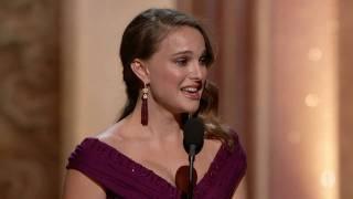 Natalie Portman winning Best Actress thumbnail