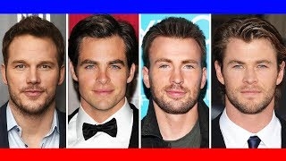 If the CHRISES had a baby...  (Chris Pratt, Chris Pine, Chris Evan, Chris Hemsworth)