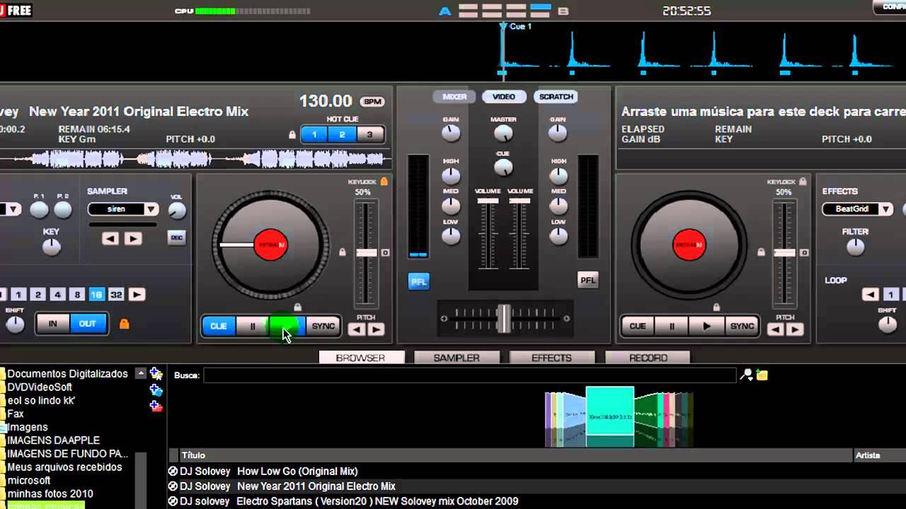 Corte de pelo virtual audio