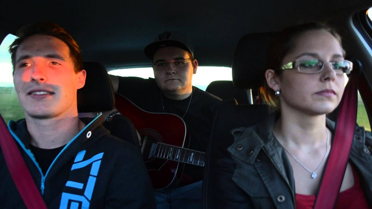 Me And My Broken Heart Cover In Car