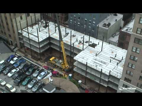 Construction of The Sanson in Philadelphia PA by Wellcraft Construction