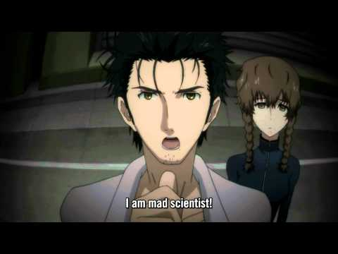 Steins;Gate - I am mad scientist, sunuvabich