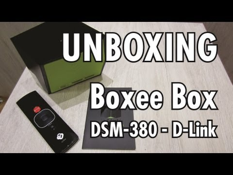 Unboxing Boxee Box - D-Link DSM-380 - Brasil
