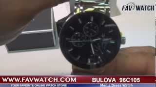 Bulova 96C105 Dress Men's watch