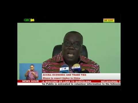 Ghana to export timber to China