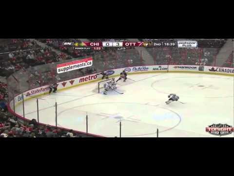 RS 13/14 : Chicago Blackhawks vs. Ottawa Senators Highlights 3/28/14