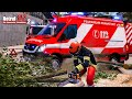 NOTRUF 112 #16: Ast droht zu fallen: Mit der Kettensäge in der Drehleiter Feuerwehr Simulation 2