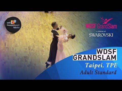 Varfolomeev - Masharova, RUS   2019 GrandSlam STD Taipei   R2 VW