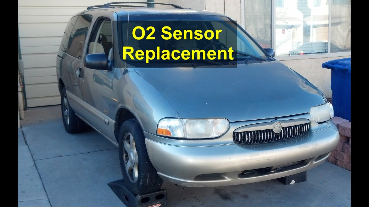 small resolution of o2 sensor replacement mercury villager nissan quest etc votd