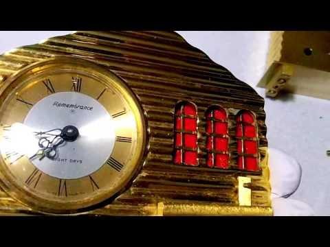 Swiss musical clock