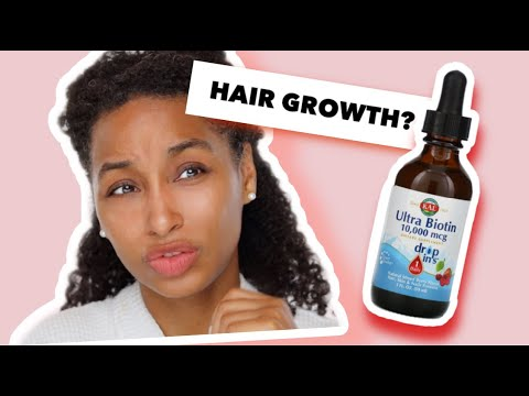 Liquid Biotin for Hair Growth using Ultra Biotin 10000