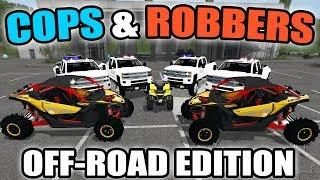 Video FARMING SIMULATOR 2017   COPS VS ROBBERS OFF-ROAD EDITION   CAN-AM MAVERICK   MULTIPLAYER download MP3, 3GP, MP4, WEBM, AVI, FLV Agustus 2017
