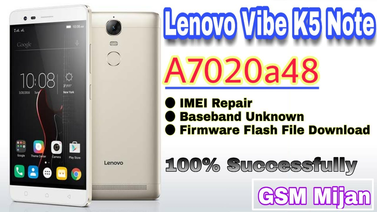 Lenovo A7020a48 Flash File