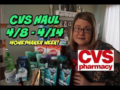 CVS HAUL 4/8 - 4/14 ~ All FREE & almost $9 MONEYMAKER!!!!