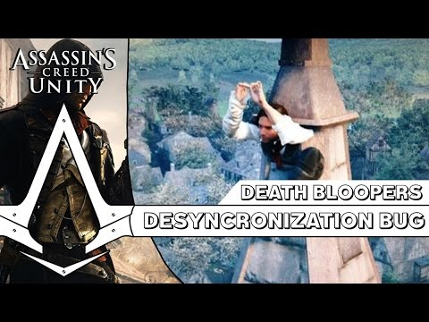Assassin's Creed Unity - Epic Death Bloopers And Rank Legend (Falling Out Of The Map)
