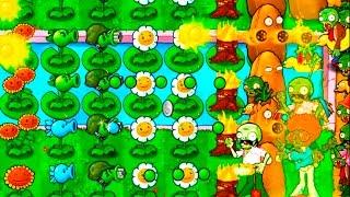 Игра - Растения Против Зомби - смотреть прохождение от Flavios #31