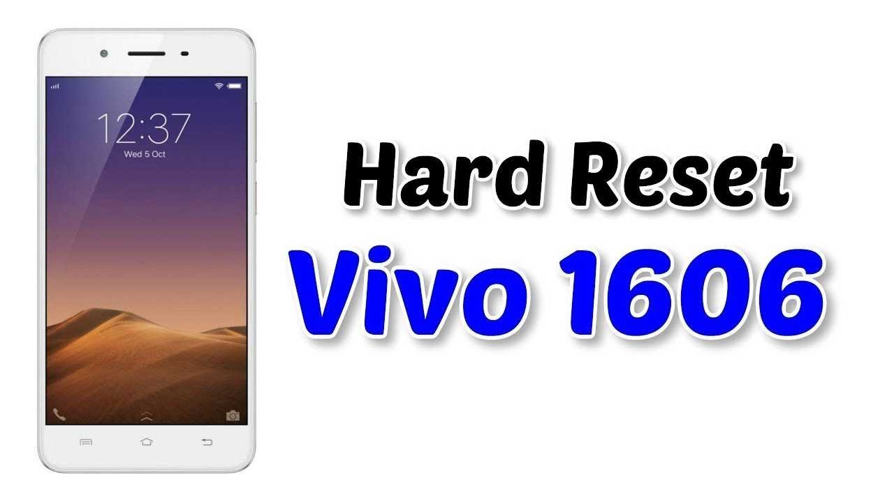 Vivo 1606 Hard reset | Factory Reset | Not Remove Pattern