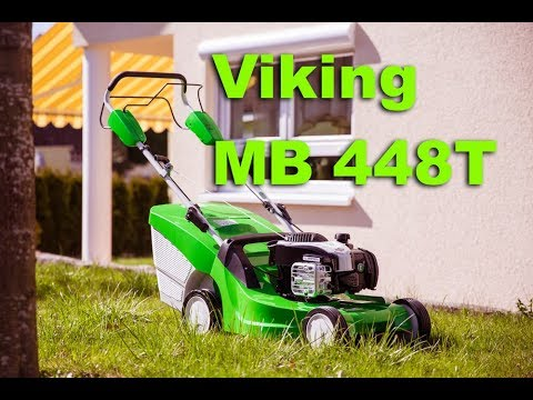 viking mb 448 1 t benzinrasenm her mit radantrieb youtube. Black Bedroom Furniture Sets. Home Design Ideas