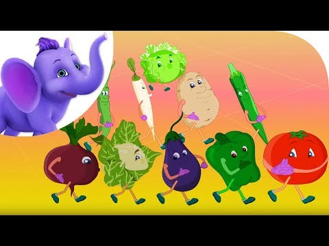 Vegetables are Good for Me - Nursery Rhyme with Karaoke