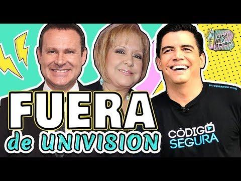 Orlando Código Segura queda fuera de UNIVISION y otros CAMBIOS