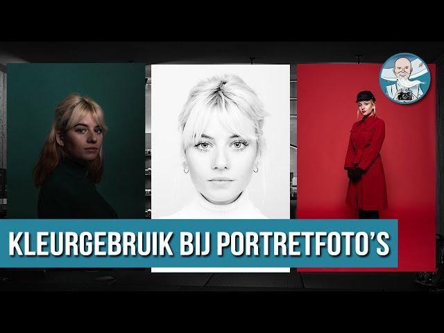Kleurgebruik Tips voor Portretfotografie