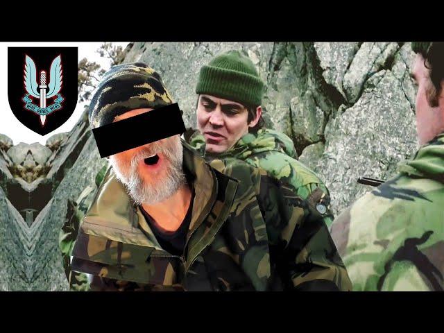 Royal Marine SAVAGELY BEATEN By SAS Thugs