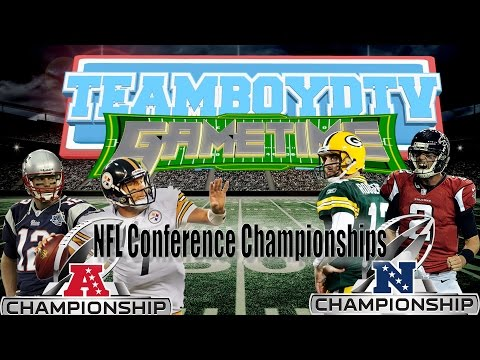 TeamBoydTV GameTime!  Conference Champonships