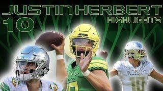 Justin Herbert 2017 Oregon QB Highlights || Future NFL Star ||ᴴᴰ