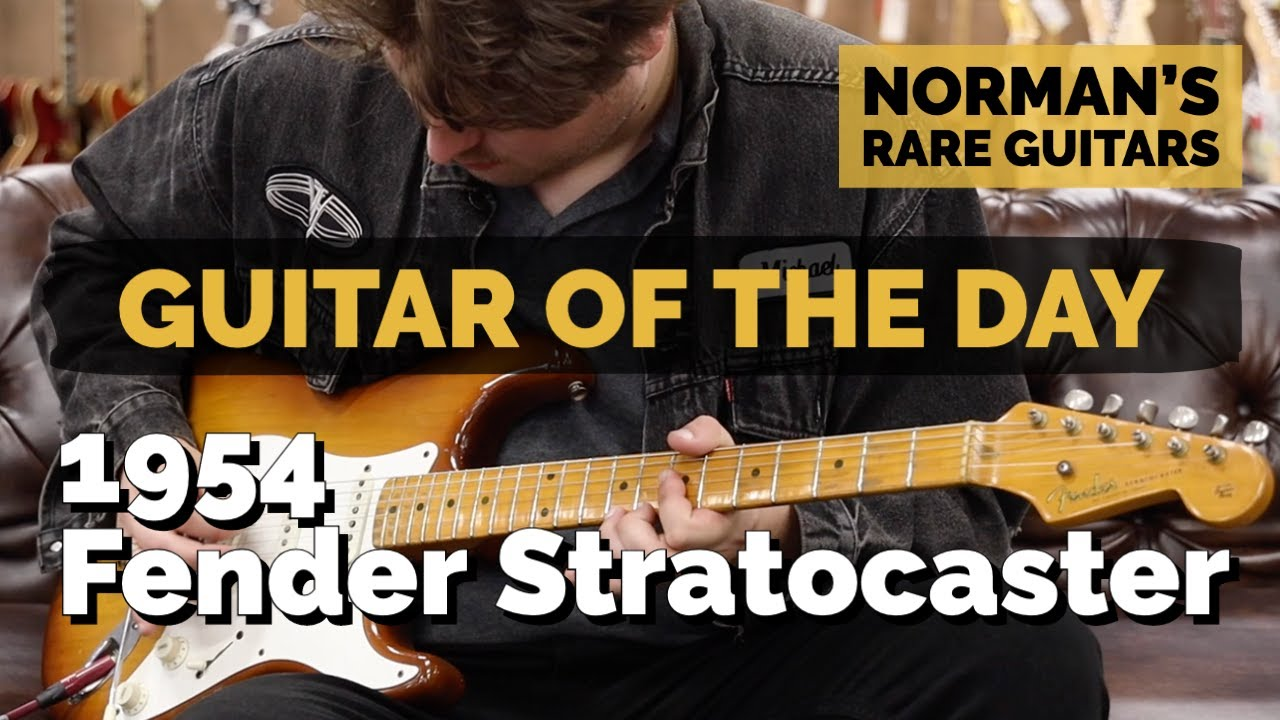 Guitar of the Day: 1954 Fender Stratocaster | Norman's Rare Guitars