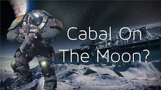 Destiny Secret: Cabal On The MOON?