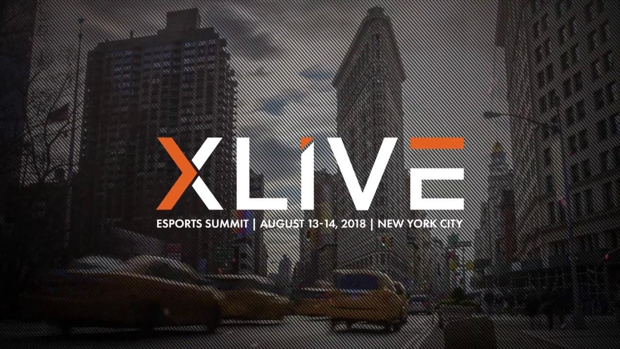XLIVE Esports Summit NYC 2018 - Teaser
