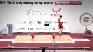 RUIZ GASSO Lazaro Maykel 1j 142 kg cat. 56 World Weightlifting Championship 2013