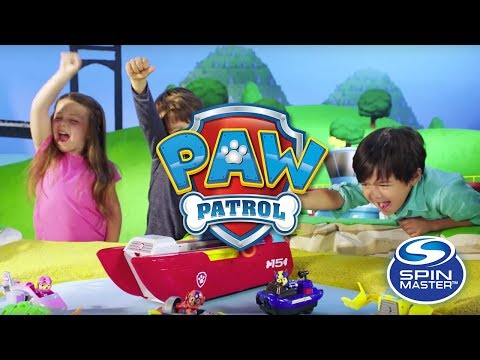 Spin Master | PAW Patrol - Sea Patroller Transforming Vehicle!