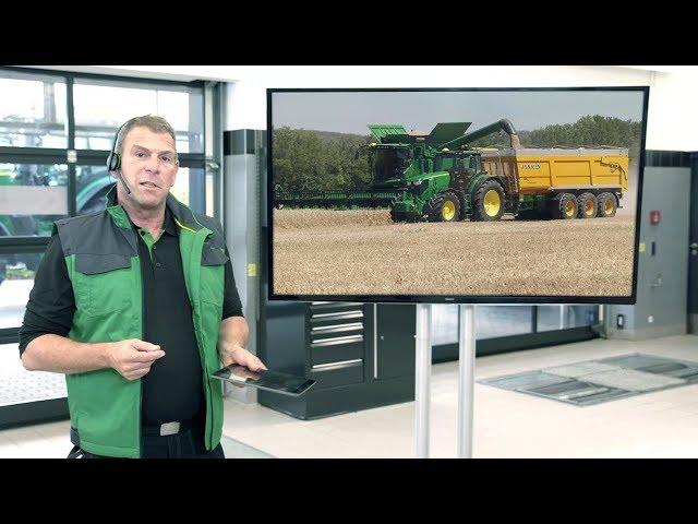 John Deere - Contrats de Services FarmSight - accès distant à la console