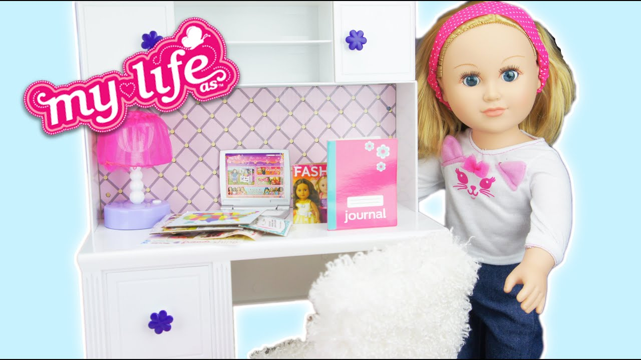 How To Make A My Life Doll Bed