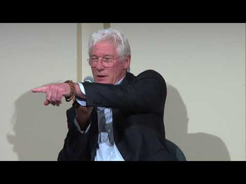 Richard Gere Reads Italo Calvino at New York University