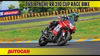 TVS Apache RR 310 Cup race bike | First Ride Review | Autocar India