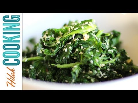How to Cook Kale | Garlic Kale Recipe | Hilah Cooking