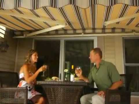 Sunsetter Retractable Awnings Youtube