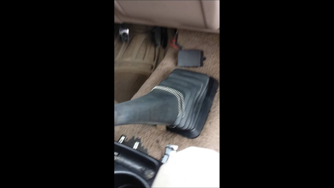 Ford Explorer Sport Shift Knob Removal Replac