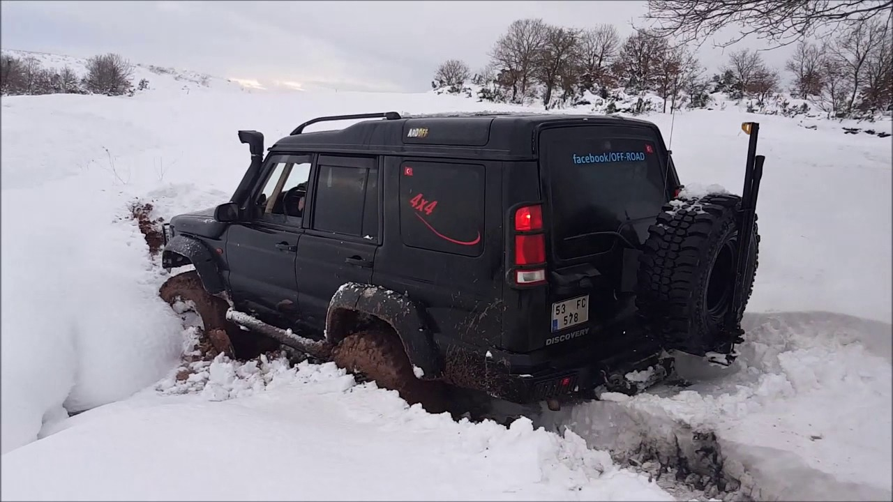 Land Rover Discovery TD5 **Snow Offroad Testing** - YouTube