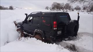 Land Rover Discovery TD5   **Snow Offroad Testing**