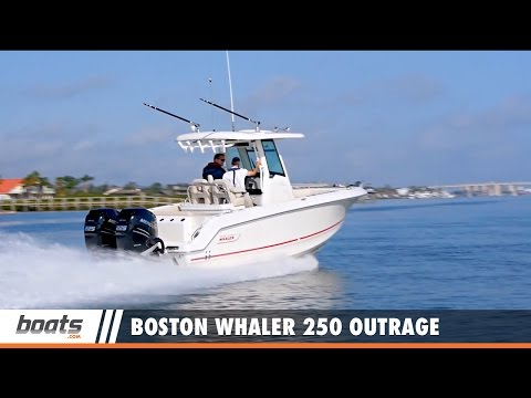 Boston Whaler 250 Outrage: Video Boat Review - YT